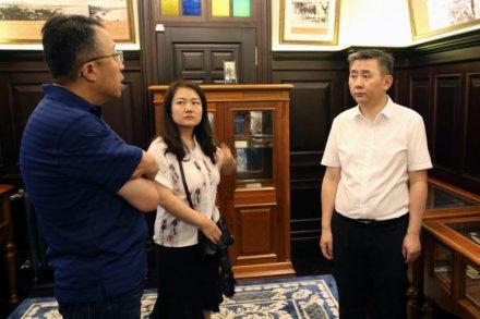 国家文物局有关领导莅临考察青岛印象博物馆