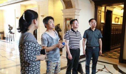著名小提琴家、指挥家胡坤先生访问集团公司
