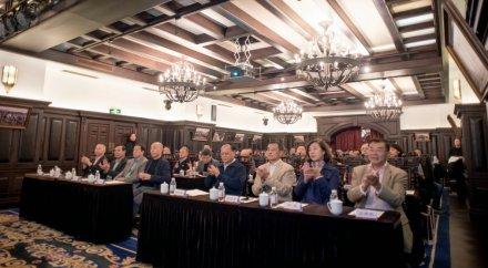 青岛城市建设文化交流协会换届选举大会暨主题文化文坛成功举行