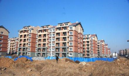 青岛印象·湾安置房B区主体竣工